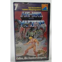 He-man VHS nr7 - Celice, die Zaubersangerin, Ocean 1984